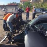 FOTO: Teška saobraćajna nesreća u Miljanovcima