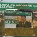 Saopćenje za javnost OO SDA Kalesija: SDA nisu uništili tenkovi, neće ni koji litar farbe!
