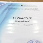 Sead Džafić i zvanično načelnik, preuzet certifikat u Centralnoj izbornoj komisiji