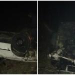 """U kalesijskom naselju Hrvačići """"Audi"""" završio na krovu, jedna osoba teže povrijeđena"""