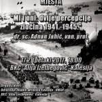 "U petak, u BKC-u, dr. sc. Adnan Jahić govori o temi ""Mi i oni: dvije percepcije zločina 1941-1945"""
