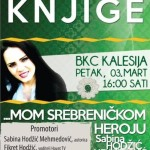 """U petak u BKC-u promocija knjige """"Mom srebreničkom heroju"""", promotor i Fikret Hodžić"""