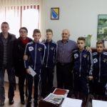 Načelnik Džafić primio mlade nogometaše koji su nastupili na turniru u Njemačkoj