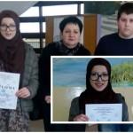 Kantonalno takmičenje iz hemije: Azra Mešić osvojila prvo mjesto, Mustafa Alić šesto