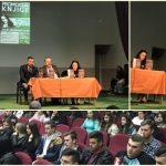 """FOTO/ BKC Kalesija: Suze na promociji knjige """"Mom srebreničkom heroju"""" autorice Sabine Hodžić Mehmedović"""
