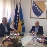 Zdenko Tadić direktor Kantonalne uprave civilne zaštite pohvalio Kalesiju i rad načelnika