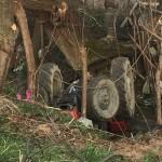 FOTO Nesreća u Saračima: Mujo Alić poginuo prilikom prevrtanja traktora