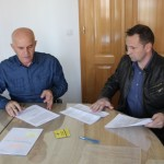 """Potpisan ugovor o izmještanju dijela korita rijeke """"Spreča"""""""