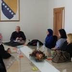 Načelnik Sead Džafić primio predstavnice žena koje su bile u Turskoj