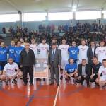 Sportski spektakl u Kalesiji privukao veliki broj malih i velikih ljubitelja košarke: Odigrana utakmica AKOL Kalesija i AKL Niš