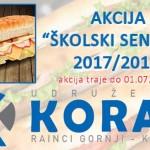 """Školski sendviči – Novi projekat udruženja """"KORAK"""" Kalesija"""