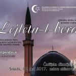 Sutra poslije akšama u Čaršijskoj džamiji obilježavanje Lejletu-l-berata