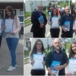 Dženana Halilović osvojila četvrto mjesto na državnom takmičenju iz Islamske vjeronauke