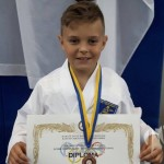 """Desetogodišnji Kalesijac Faris Sinanović """"pomeo"""" konkurenciju na karate turniru u Palama"""