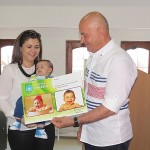 Upriličen prijem: Majkama porodiljama uručene čestitke i novčana sredstva