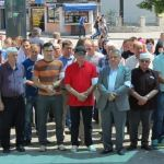FOTO/Kalesijci se bijelim trakama sjetili se crnih i mračnih četničkih zločina u Prijedoru
