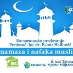 Miljanovci: U četvrtak ramazansko predavanje doc.dr. Esmira Halilovića