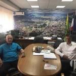 Načelnik Sead Džafić sastao se sa gradonačelnikom Zenice Fuadom Kasumovićem