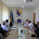 Održan sastanak koalicionih partnera u OV Kalesija