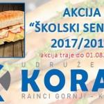 """Do sada skupljeno 600 KM u okviru akcije """"Školski sendvići 2017/2018"""""""