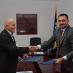 Ministar Edin Ramić sa načelnikom Seadom Džafićem: Pomoć u infrastrukturi i ostvarivanje prava povratnika u općini Kalesija