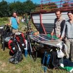 FOTO/Mladi Francuzi na proputovanju kroz Bosnu konačili i u Kalesiji
