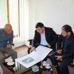 Predstavnici Muftijstva tuzlanskog sa načelnikom razgovarali o izgradnji džamije u Dubnici
