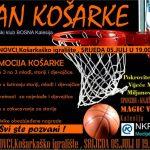 """""""Dan košarke"""" u Miljanovcima: Zabava za sve uzraste u organizaciji KK Bosna i MZ Miljanovci"""