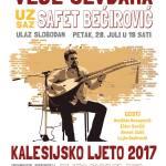 """Večeras u Kalesiji """"Veče sevdaha"""" uz saz Safeta Bećirovića"""