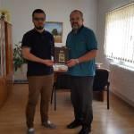 Elvedin Halilović poklonio knjige za Gradsku biblioteku