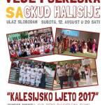 """Kalesijsko ljeto 2017: U subotu 12. avgusta """"Veče folklora – Zaigrajmo zapjevajmo uz Halisije"""""""