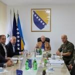 Općinski načelnik razgovarao sa predstavnicima Oružanih snaga BiH o deminiranju u Kalesiji
