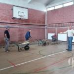 Radovi na rekonstrukciji sportske sale u Osnovnoj školi Vukovije