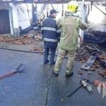 Izgorio pomoćni objekat u Hrvačićima