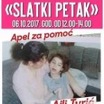 """Slatki petak"" za pomoć Ajli Turić"