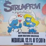 """BKC Kalesija:Hit predstava za djecu """"Štrumpfovi u pustolovini"""""""