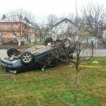 Saobraćajna nezgoda u Miljanovcima
